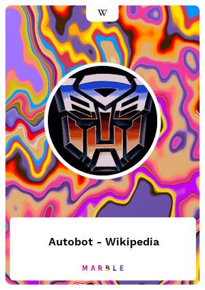 Autobot - Wikipedia