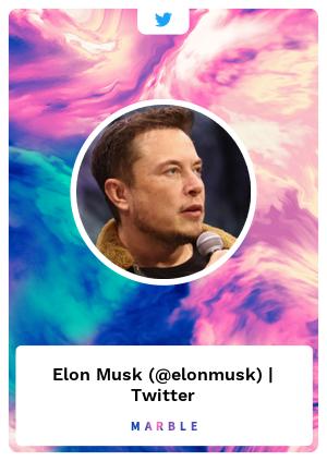 Elon Musk (@elonmusk) | Twitter