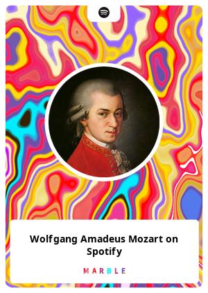 Wolfgang Amadeus Mozart on Spotify
