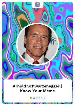 Arnold Schwarzenegger | Know Your Meme