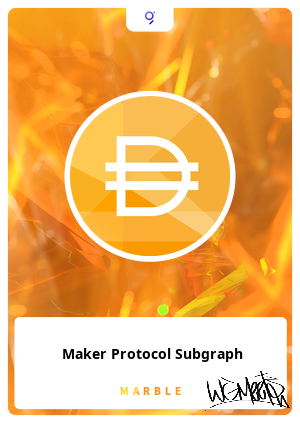 Maker Protocol Subgraph