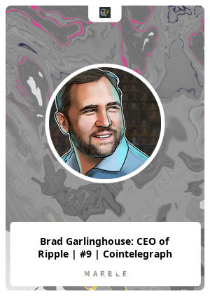 Brad Garlinghouse: CEO of Ripple | #9 | Cointelegraph