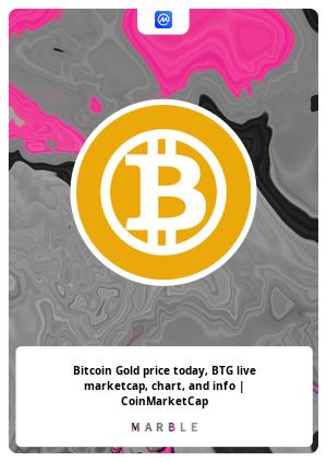 coinmarketcap bitcoin gold