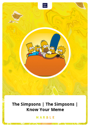 The Simpsons | The Simpsons | Know Your Meme