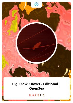 Big Crow Knows - Editional | OpenSea