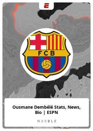 Ousmane Dembélé Stats, News, Bio | ESPN