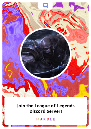 Join the League of Legends Discord Server!