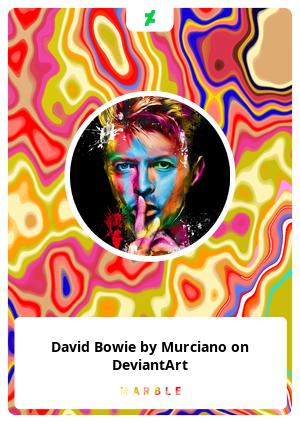 David Bowie by Murciano on DeviantArt