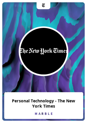 Personal Technology - The New York Times