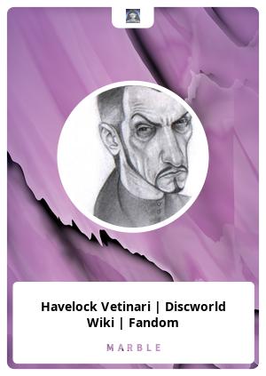 Havelock Vetinari   Discworld Wiki   Fandom