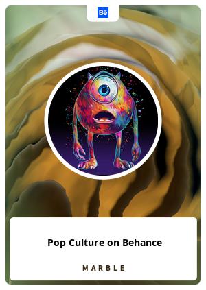 Pop Culture on Behance