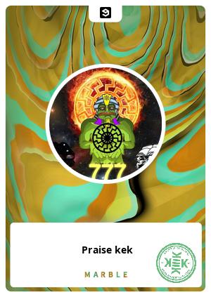 Praise kek