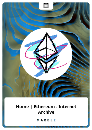 Home | Ethereum : Internet Archive