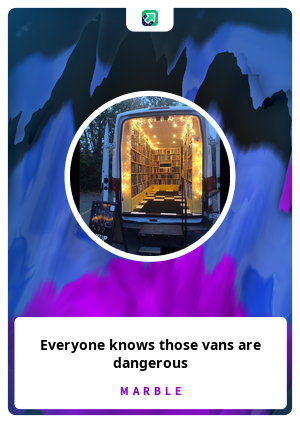Everyone knows those vans are dangerous