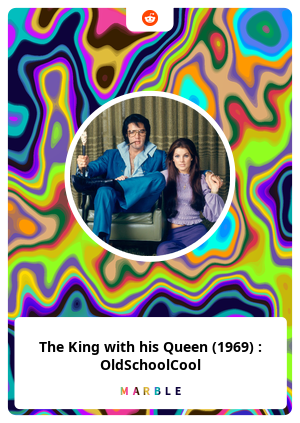 The King with his Queen (1969) : OldSchoolCool