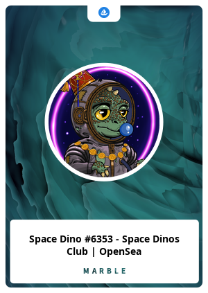 Space Dino #6353 - Space Dinos Club | OpenSea