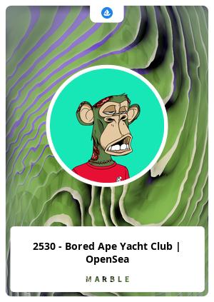 2530 - Bored Ape Yacht Club   OpenSea