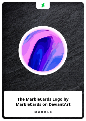 The MarbleCards Logo by MarbleCards on DeviantArt
