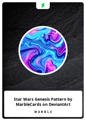 Star Wars Genesis Pattern by MarbleCards on DeviantArt