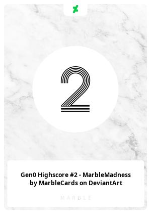 Gen0 Highscore #2 - MarbleMadness by MarbleCards on DeviantArt