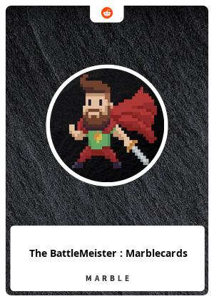 The BattleMeister : Marblecards