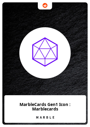 MarbleCards Gen1 Icon : Marblecards