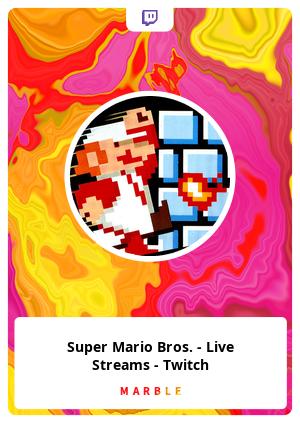 Super Mario Bros. - Live Streams - Twitch