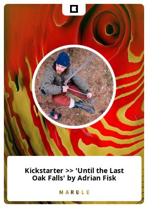 Kickstarter >> 'Until the Last Oak Falls' by Adrian Fisk