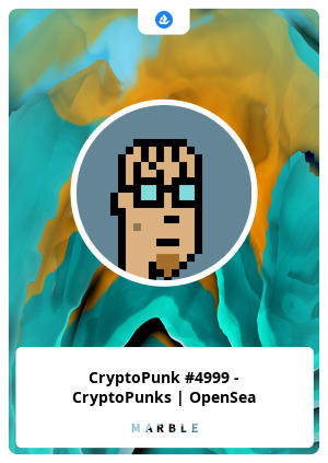 CryptoPunk #4999 - CryptoPunks   OpenSea