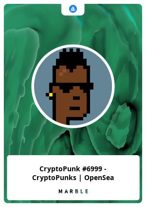 CryptoPunk #6999 - CryptoPunks   OpenSea
