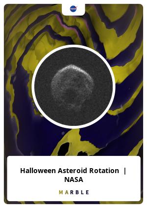 Halloween Asteroid Rotation  | NASA
