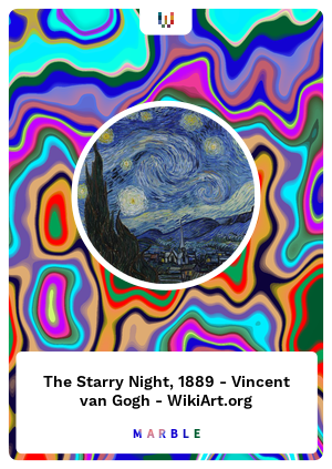 The Starry Night, 1889 - Vincent van Gogh - WikiArt.org