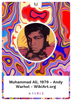Muhammad Ali, 1979 - Andy Warhol - WikiArt.org