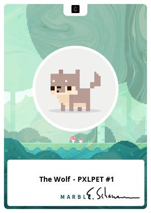 The Wolf - PXLPET #1