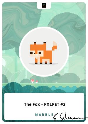 The Fox - PXLPET #3