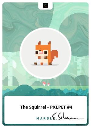 The Squirrel - PXLPET #4