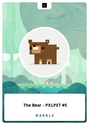 The Bear - PXLPET #5