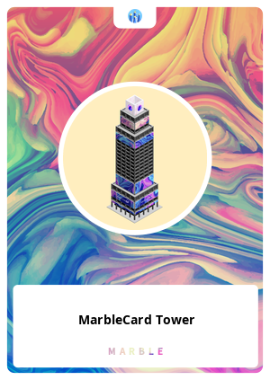 MarbleCard Tower