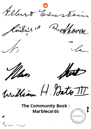 The Community Book : Marblecards