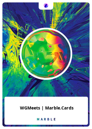 WGMeets | Marble.Cards