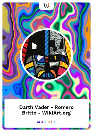 Darth Vader - Romero Britto - WikiArt.org