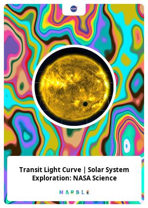 Transit Light Curve   Solar System Exploration: NASA Science