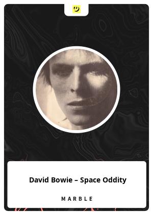 DavidBowie – Space Oddity