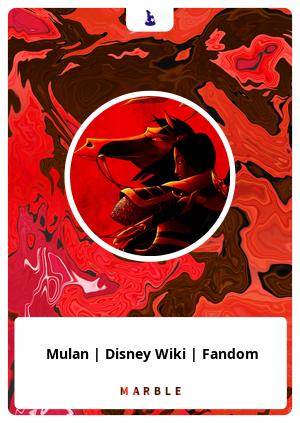 Mulan | Disney Wiki | Fandom