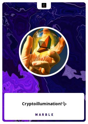 Cryptoillumination!✨
