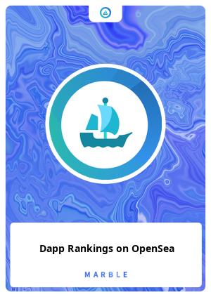Dapp Rankings on OpenSea