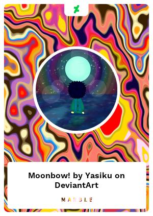 Moonbow! by Yasiku on DeviantArt