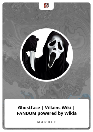 Ghostface | Villains Wiki | FANDOM powered by Wikia