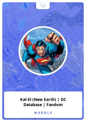 Kal-El (New Earth) | DC Database | Fandom